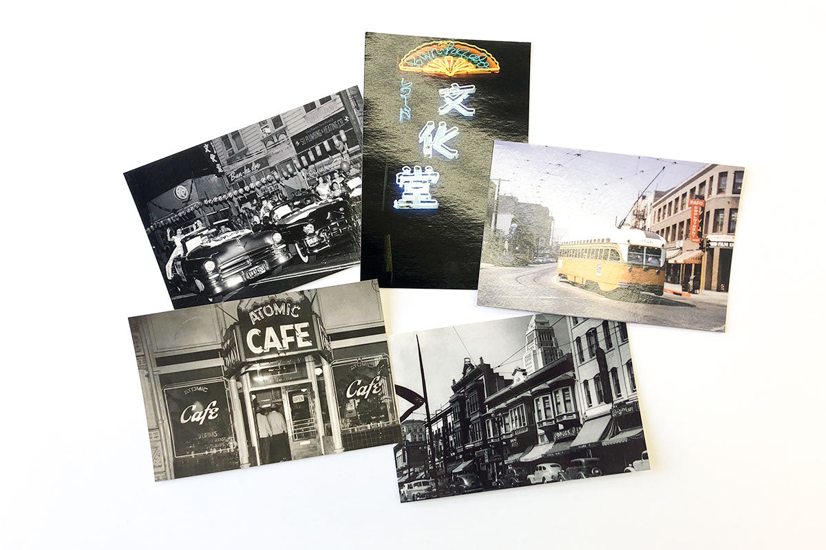 Vintage Little Tokyo Postcards (Shipping Included)