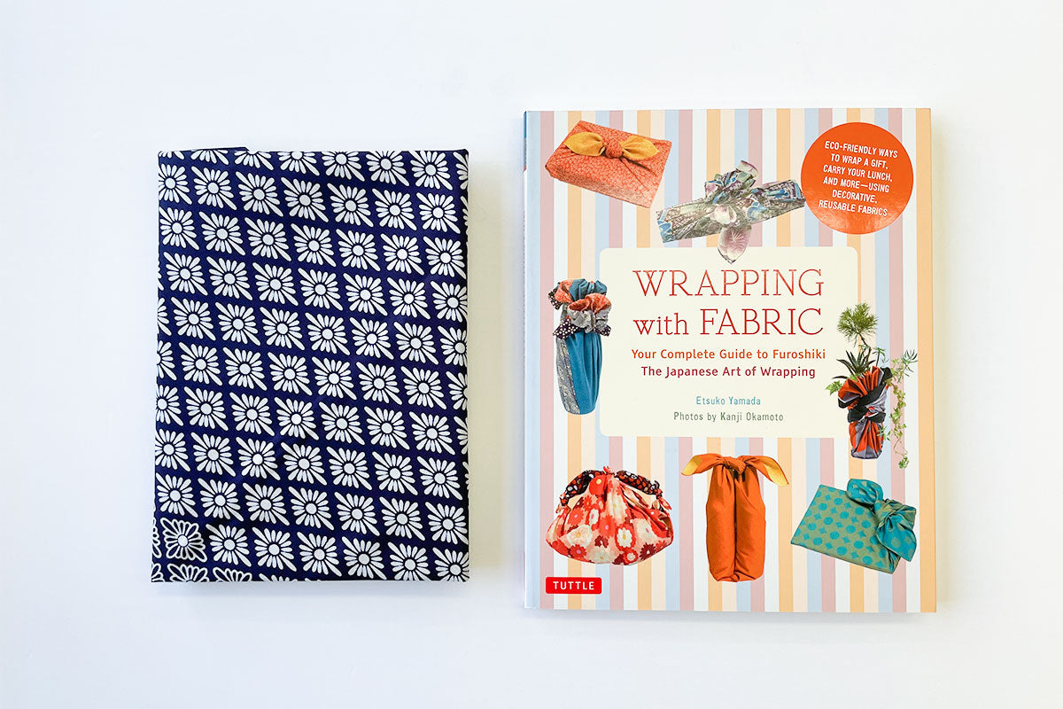 Wrapping with Fabric Book and Furoshiki Set