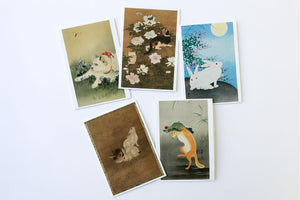 Animal Series Greeting Card Set