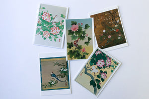 Birds and Flowers Series Greeting Card Set