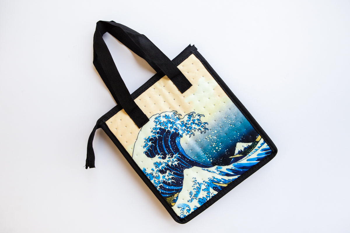 The Great Wave Insulated Food Bag