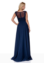 Load image into Gallery viewer, Navy Prom dresses in south wales!