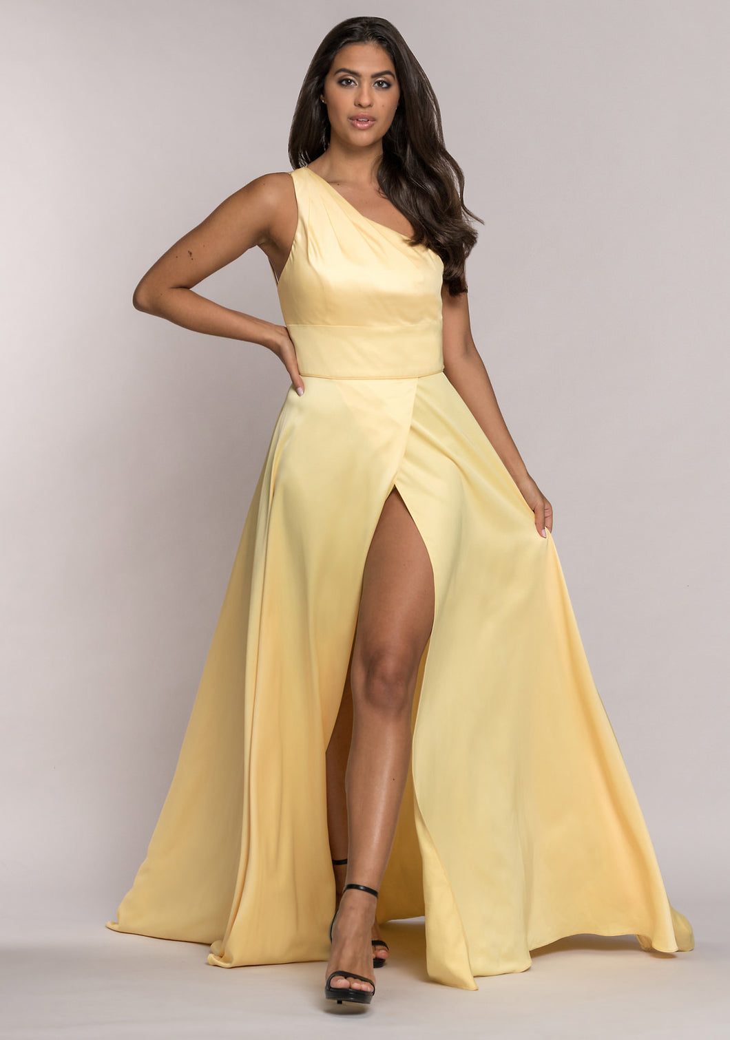 0577 Christian Koehlert | Yellow Evening and Prom Dress