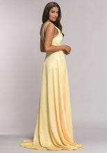 Load image into Gallery viewer, 0577 Christian Koehlert | Yellow Evening and Prom Dress