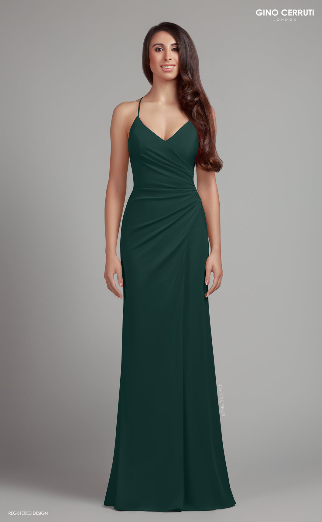 Green Fitted Prom Dress