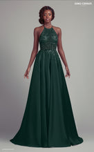 Load image into Gallery viewer, Emerald Green Prom Dress