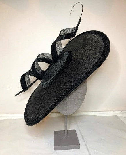 Black Designer hat