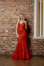 Load image into Gallery viewer, red prom dresses