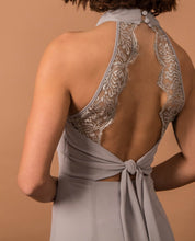 Load image into Gallery viewer, Grey abbie jade bridesmaid dresses