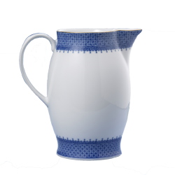 Blue Lace Pitcher By Mottehedeh