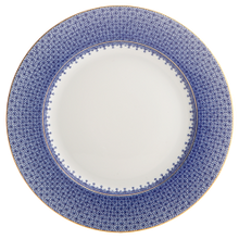Load image into Gallery viewer, Blue Lace Dinner plate