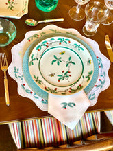 Load image into Gallery viewer, KSW x Elizabeth Lake Famillie Vert Placemat and Napkin Set