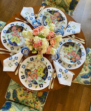 Load image into Gallery viewer, Matisse Floral Linen Placemats by Elizabeth Lake - Set of 2
