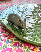 Load image into Gallery viewer, Cheese Tray with Mice by Bordallo Pinheiro