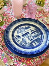 Load image into Gallery viewer, Blue Canton Dinner Plate by Mottahedeh, Large