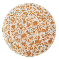 Sacred Bird & Butterfly Dinner Plate By Mottahedeh
