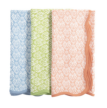 Load image into Gallery viewer, Peacock Napkins by Amanda Lindroth - Set of 4
