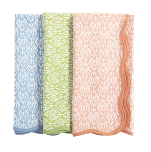 Peacock Napkins by Amanda Lindroth - Set of 4