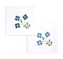 Load image into Gallery viewer, Matisse Floral Linen Napkins by Elizabeth Lake - Set of 2