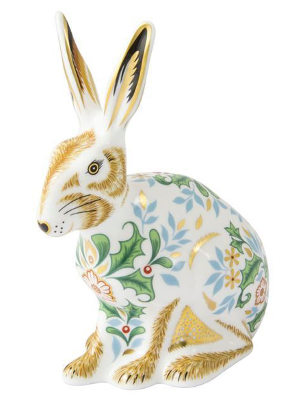Winter Hare by Royal Crown Derby
