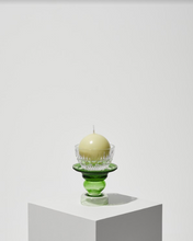 Load image into Gallery viewer, Reversible Green Candle Holder By Opaline Atelier