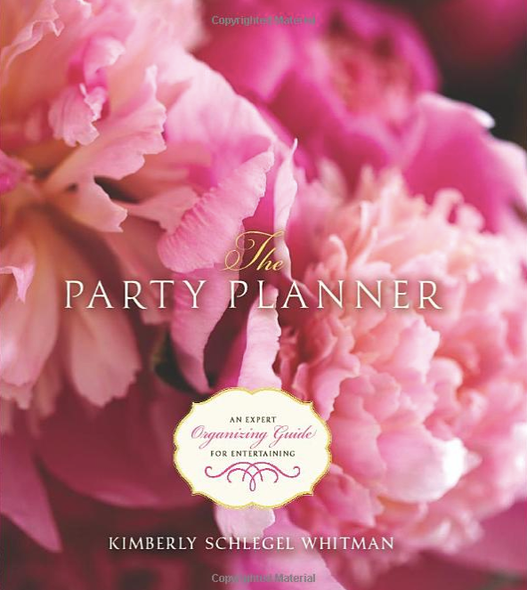 The Party Planner: An Expert Organizing Guide for Entertaining - Autographed Book by KSW
