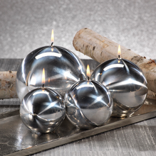 Load image into Gallery viewer, Metallic Ball Candles