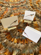 Load image into Gallery viewer, Pheasant Place Card by Patmos Plume - Set of 12