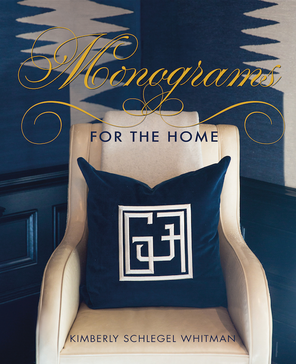Monograms for the Home Book by KSW - Autographed Copy