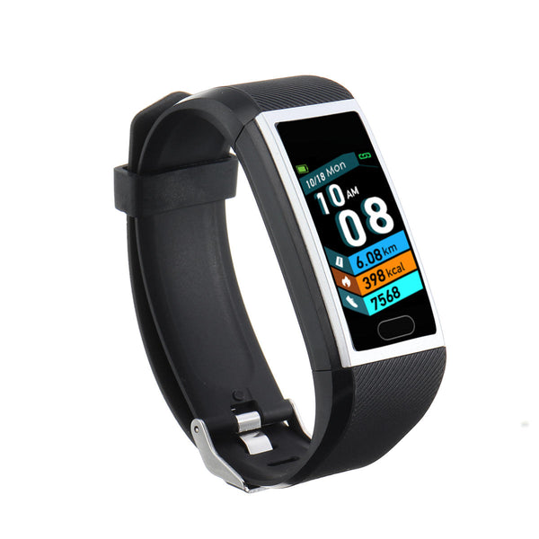 Bakeey T12 1.14' Fitness Tracker Record Blood Pressure O2 SMS Reminder Weather Forecast Smart Watch Band