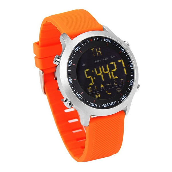 EX18 SMS Reminder Pedometer Chronograph Multifunction Luminous IP67 Fashion Sport bluetooth Watch