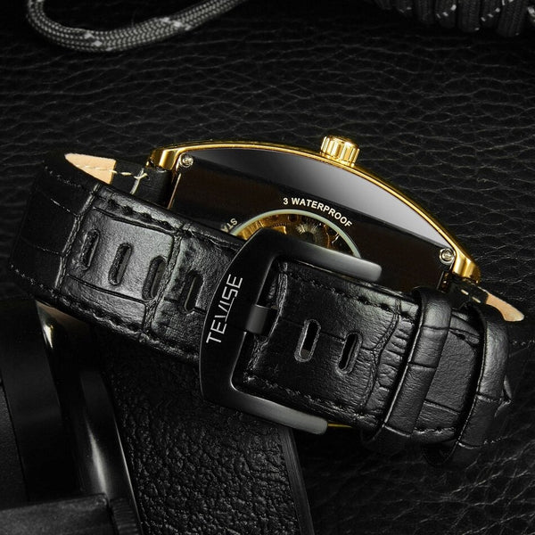 TEVISE T813 Spider Fashion Style Men Wrist Watch Luminous Display Automatic Mechanical Watch
