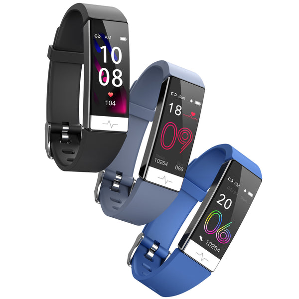 [HRV Analysis]Bakeey Y91 ECG+PPG Heart Rate Blood Pressure Oxygen Monitor Multi-sport Mode IP68 Water Resistant Camera Control  Smart Watch