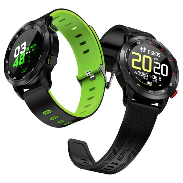Bakeey V09 Full Touch HD Display Wristband Replace Watch Band ECG Heart Rate Blood Pressure Monitor IP68 Smart Watch