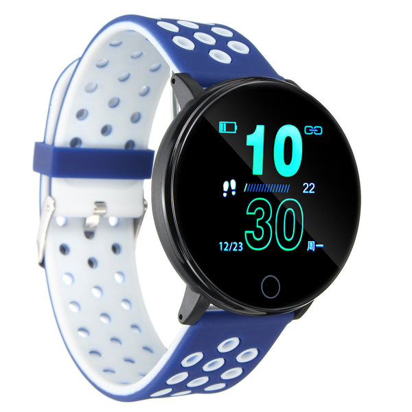 Bakeey W9 Colorful Heart Rate Monitor Multi-sport Modes IP67 Waterproof Smart Watch