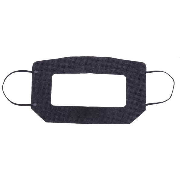 100pcs 20.5x11.5cm Black VR Glasses Eyewear Eyeglasses Gauze