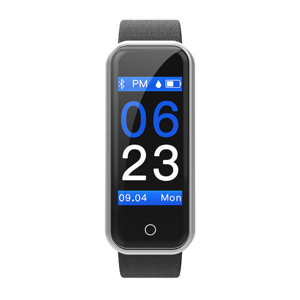 Bakeey CB601 Pro Female Physiological Reminder Heart Rate Blood Pressure Monitor Stopwatch OLED Display Smart Watch