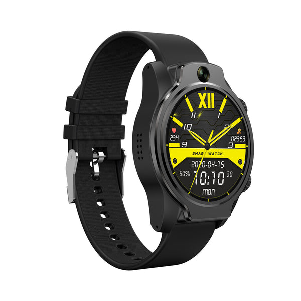 [Face Unlock] Rollme S08 True IP68 Waterproof Ceramic Bezel 8MP Dual Camera 4G Smart Watch 3G+32G GPS Glonass 3560mAh Battery Watch Phone