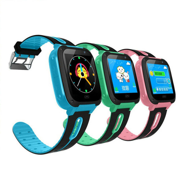 Bakeey Anti-lost GPS Tracker SOS Call GSM Kid Smart Watch Phone for IOS Android