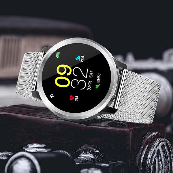 Bakeey E18 1.3' ECG Blood Pressure Oxygen 8 Sports Mode Message Reminder Large Capacity Battery Smart Watch