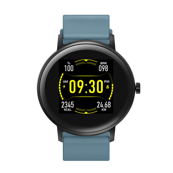Bakeey TS09 Heart Rate Blood Pressure Oxygen Monitor Real-time Weather Display Smart Watch
