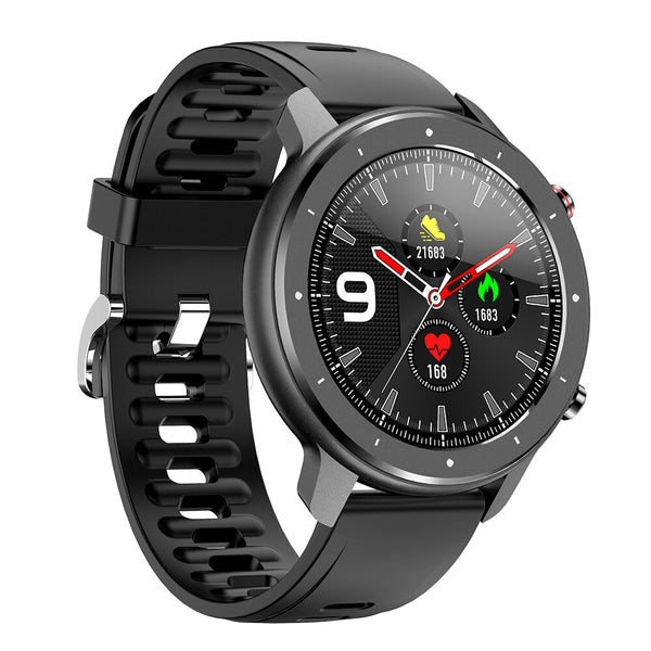 [bluetooth V5.0] Bakeey F12 1.28inch Full Touch Screen Heart Rate Blood Pressure Monitor Music Control Smart Watch