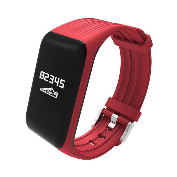 Fitness Activity Tracker Real-time Heart Rate Monitor Waterproof Smart Wristband
