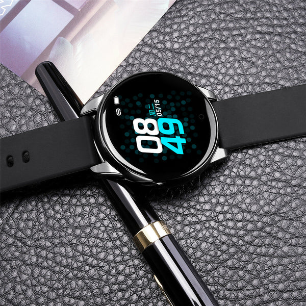 Bakeey 1.3 inch IPS Screen Wristband Heart Rate Blood Pressure Monitor Multi-sport Modes Camera Control Smart Watch
