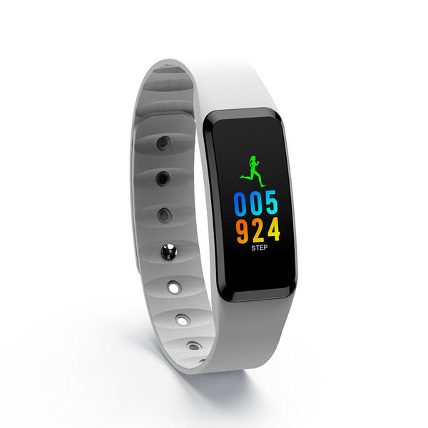 "XANES F8C 0.96"" Touchscreen Waterproof Smart Bracelet Heart Rate Monitor Fitness Smart Watch Mi Band"