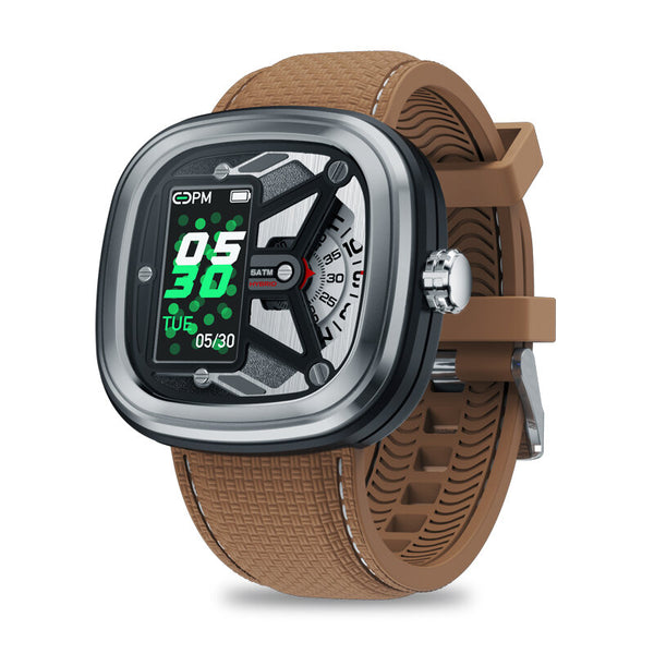 Zeblaze HYBRID 2 Absolute Toughness Heart Rate Blood Pressure Monitor Female Health Tracking Dual Modes Smart Watch