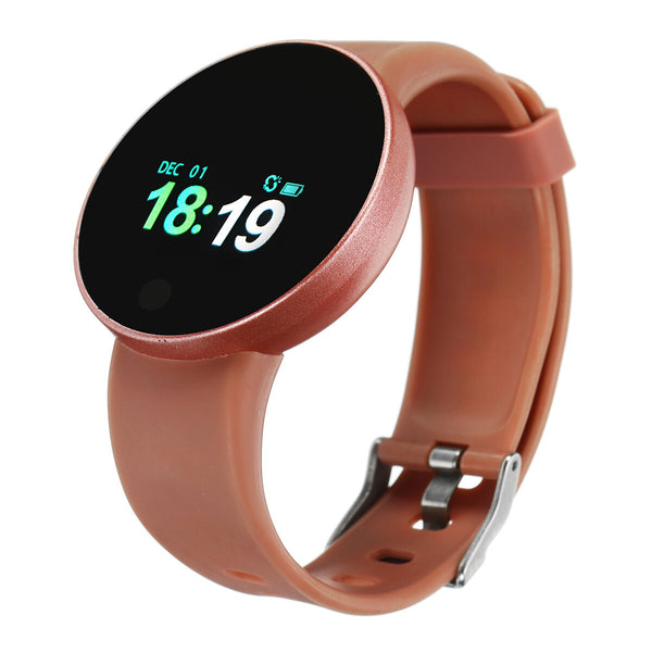 Bakeey Dynamic Heart Rate Blood Pressure Sleep Monitor Fitness Tracker SMS Reminder USB Charging Smart Watch