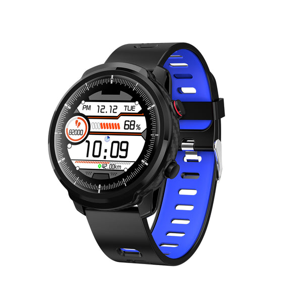 [UI Update]SENBONO S10 Plus Full Touch Circle Screen Wristband Heart Rate BP Monitor Customize On-screen Display Smart Watch