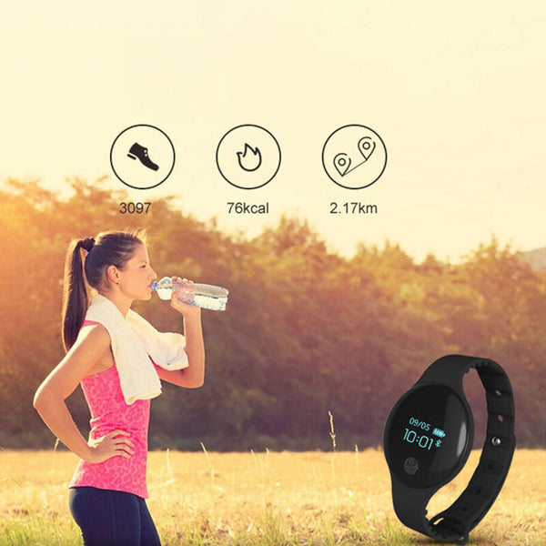 H8 bluetooth Personality Silicone Watch Band Touch Screen Pedometer Camera Remote Sport Waterproof Sports Wristband Smart Watch