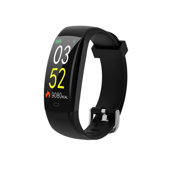 Bakeey F64C Color Screen IP68 Heart Rate Information View Weather Fitness Tracker Smart Watch Band